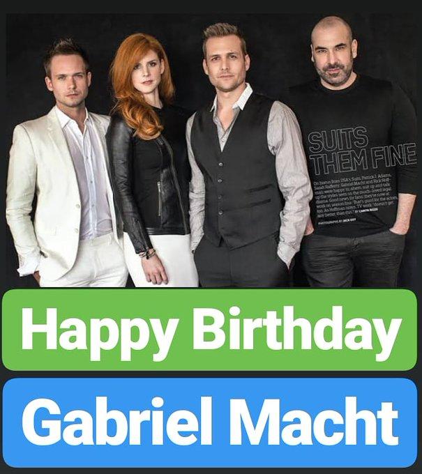 Happy Birthday Gabriel Macht