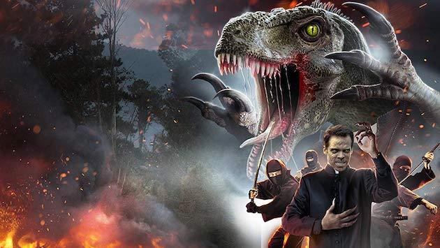 中国で恐竜に変身する呪いを受けた神父が、売春婦に説得され悪の忍者と戦うホラー映画『The VelociPastor(恐竜神父)』の日本上映はまだでしょうか(*´ω`*)