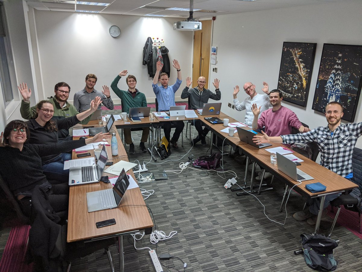 Success course group photo