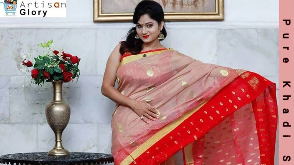 Shop for the latest Pure Khadi Silk Saree. Type: Handloom Khadi Resham Saree Dimensions: 12x16x4 Sales Package: 1 Fabric: Khadi Resham #artisanglory #handloom #khadi #saree #ethnic #indianwear #indianfashion #sareelove #silksaree #instafashion #trendingsaree #designersaree. pic.twitter.com/q6cavU0j67