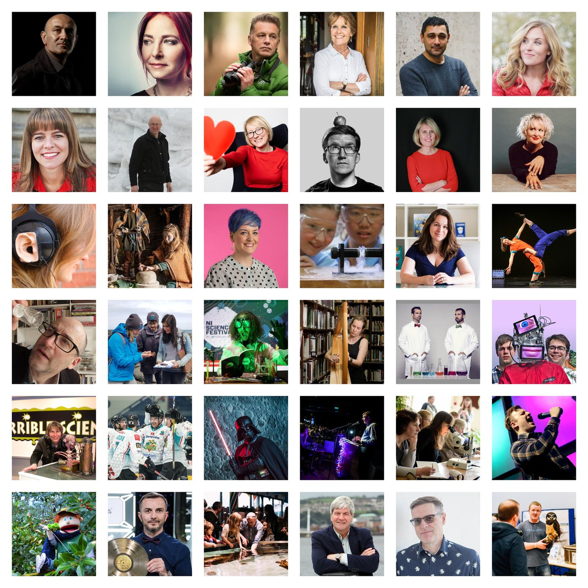 From @ChrisGPackham to @theAliceRoberts to @maddiemoate to @doctor_oxford to @AdamRutherford to @jimalkhalili to @oortkuiper the 2020 NI Science Festival returns with something for everyone. Join us from 13 - 23 February! Let your mind wonder... nisciencefestival.com
