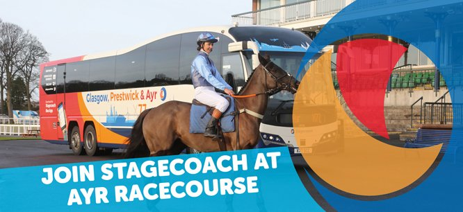 Have you heard the news? We're the official transport partner of @ayrracecourse  Ticket holders for selected race days will be able to travel on a Stagecoach shuttle service available from key locations across West Scotland. Read morehttp://stge.co/D15K50y1Jwzpic.twitter.com/GRiGvu1zJg