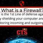 Image for the Tweet beginning: What is a firewall and