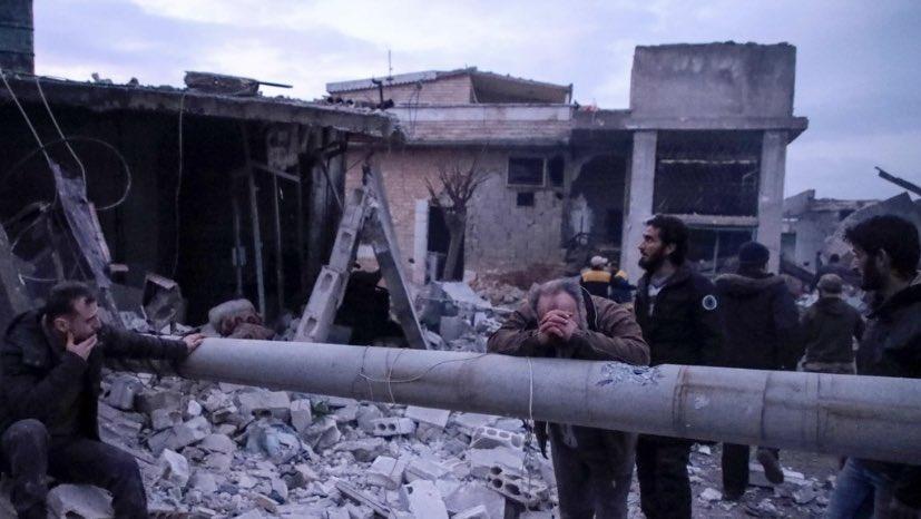 ⬜️シリア北西部で21日、ロシア軍による空爆があり、子ども13人を含む民間人少なくとも23人が死亡 https://t.co/VLZ9pV2lKt  もうテレビで報じられないほど衝撃的でもないニュース扱いである事が悲しい。中東紛争… https://t.co/Prfqgo69pJ