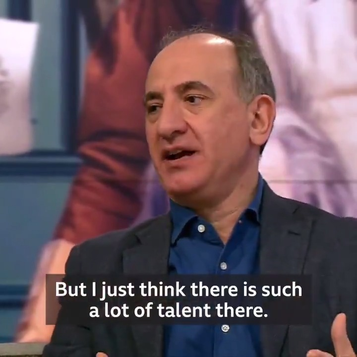 """I just want to choose the best person for the part""Director @Aiannucci tells Victoria why he chose to be 'colour-blind' in his casting of Dev Patel - a British actor of Indian heritage - in the lead role of his David Copperfield adaptation.http://bbc.in/2NPFNwx"