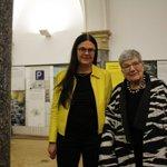 Image for the Tweet beginning: Zwei Frauen, ein Amt, zusammen