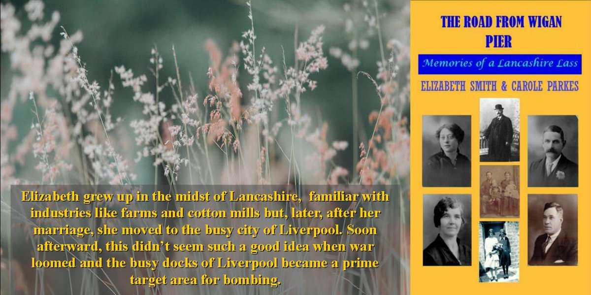 <br>http://pic.twitter.com/4pLcNbaiP9 At twenty, she'd lost all her close family to various illnesses. Now her young husband was off to war, perhaps never to return. Could she take any more heartache? #autobiography #TrueStory #BookstoRead  http:// myBook.to/WiganPier      @CaroleParkes1 #CoPromos