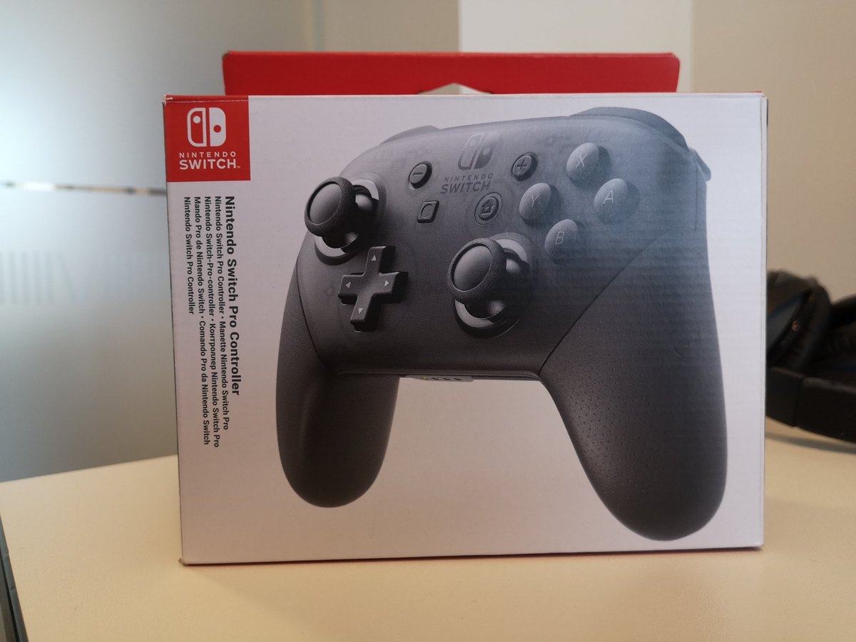test Twitter Media - I finally invested in a real Pro Controller for my Switch!  I've been using a PowerA wireless controller, but I'm really looking forward to trying this! https://t.co/EooHv3bQ2L