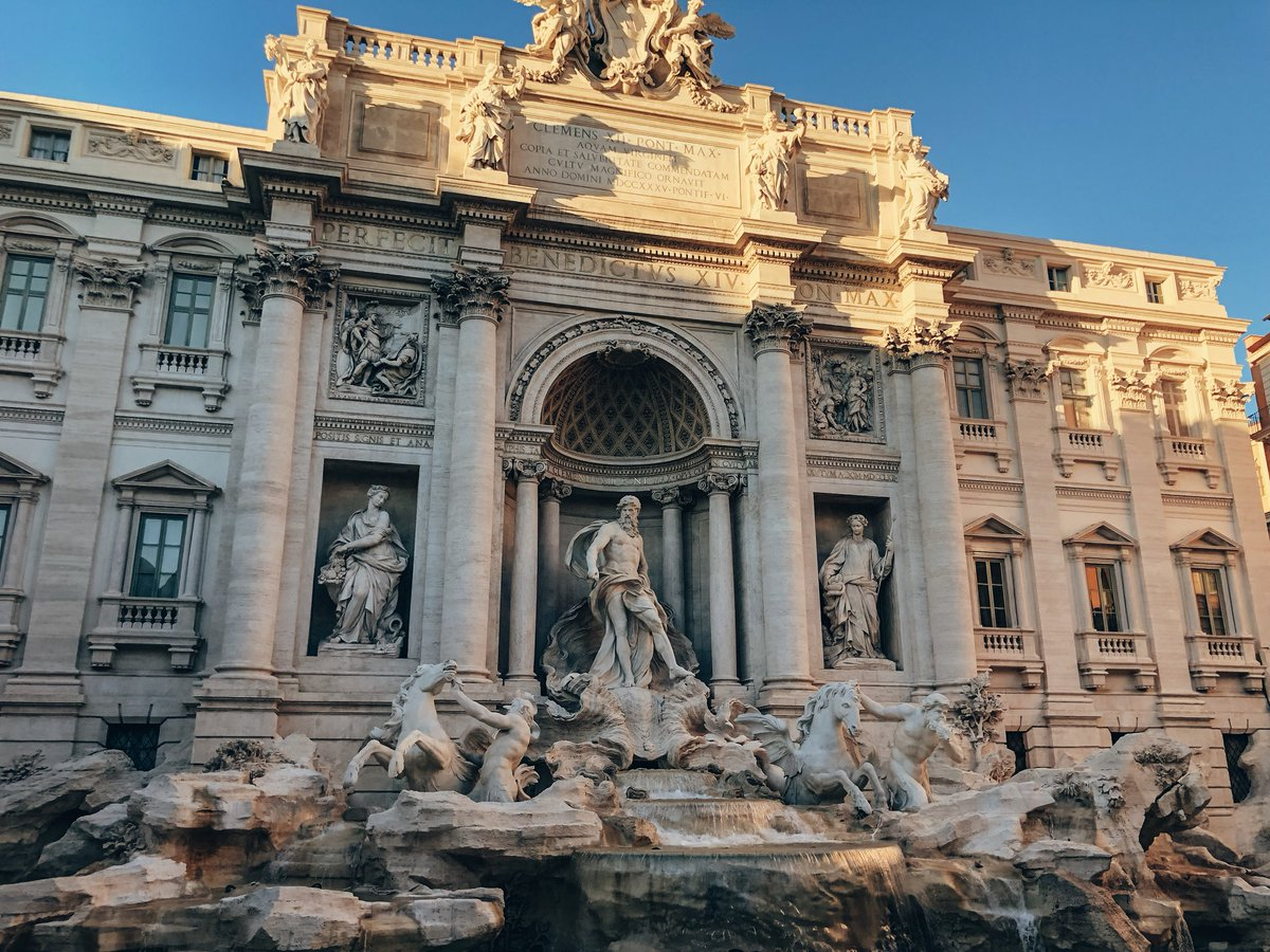 This holiday season my choice was Rome - The Eternal City. Ancient Rome is worth a visit at least once, though it would take a lifetime to see all it has to offer. I was there few times and every time I throw a coin in Trevi Fountain just to come back again! #VisitRome #PressTrip<br>http://pic.twitter.com/gBwcNELsX5