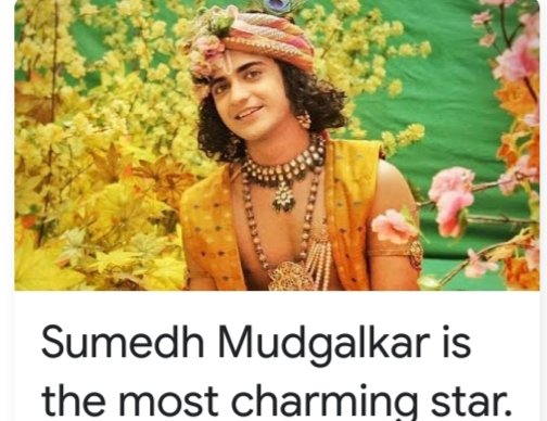Yes nobody to match this #Krishna ..He's  happy he has to save #Rukmini but to make her his wife..makes him remember his #Radha and #Rasleela ...@Beatking_Sumedh is the only one in the show #RadhaKrishn who has conquered the hearts of fans.pic.twitter.com/XZzfQx2zJR