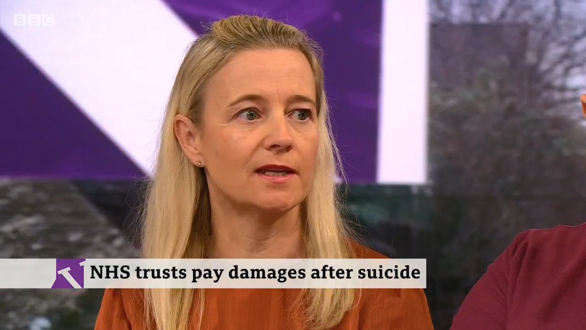 """We knew he was suicidal, we wanted him to be in a secure unit""Kelly Ward's brother Tony Collins went past nurses in his wheelchair, out of the hospital ward, and took his own life.She explains no-one knew he was missing for over 2 hourshttp://bbc.in/37jMf6L  #VictoriaLIVE"