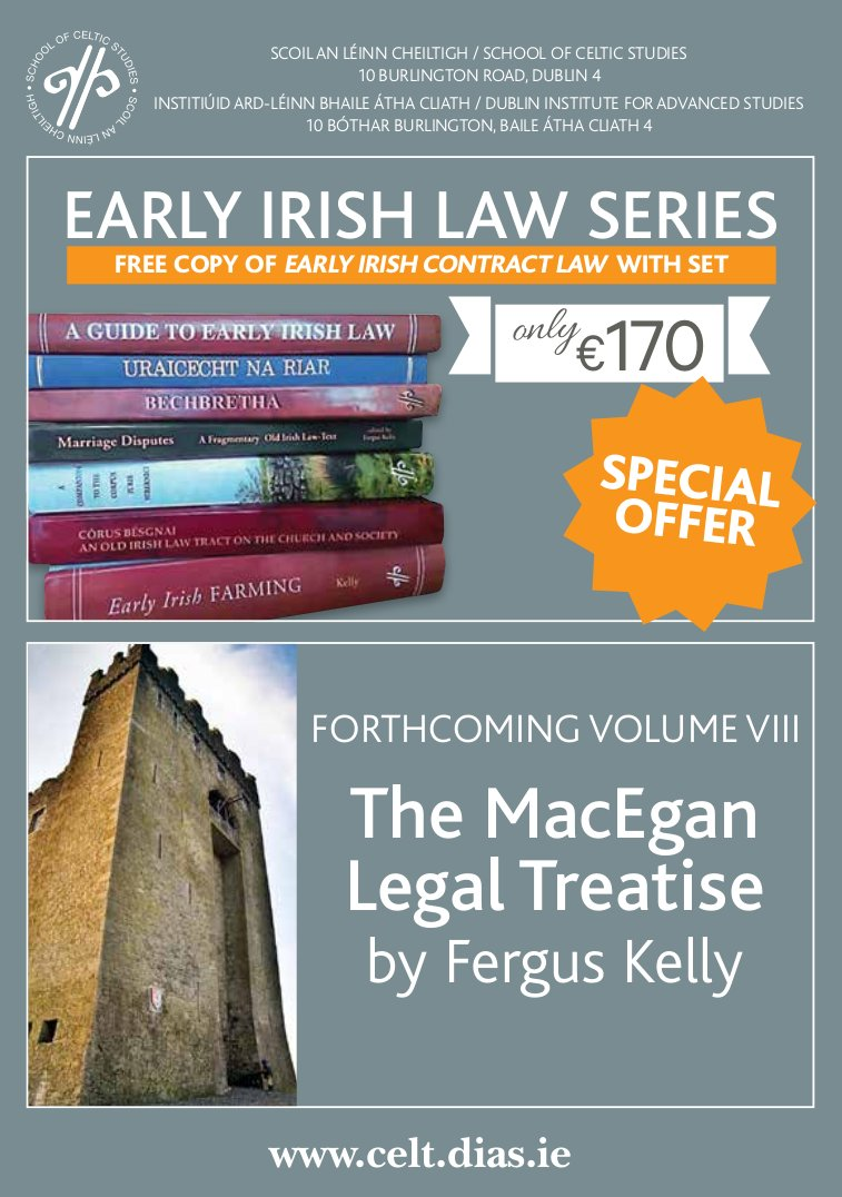 test Twitter Media - 📚 Complete Early Irish Law Series is now on special offer! Also sneak peek at our forthcoming publication by Fergus Kelly 📚  #DIASdiscovers #DIASpublishes  https://t.co/0PyNoaHrLo https://t.co/Etl6iRUDFn