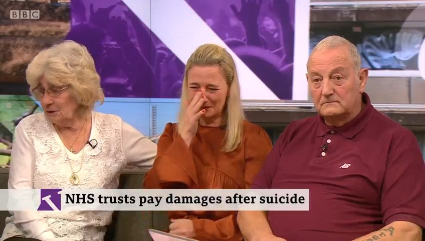 """I want people to feel safe""The family of Tony Collins say they don't want the same mistakes to be made again.Tony – known to be suicidal – was able to leave the hospital ward in his wheelchair and take his own lifehttp://bbc.in/37jMf6L  #VictoriaLIVE"