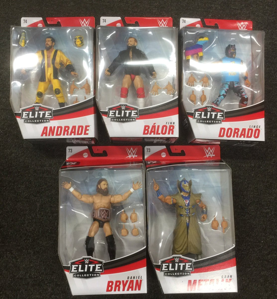 Nice delivery at work thanks to @toysandmaskscom - Make sure if you're in Europe to give them your business. #WWE #Mattel #Elite73 #Elite74