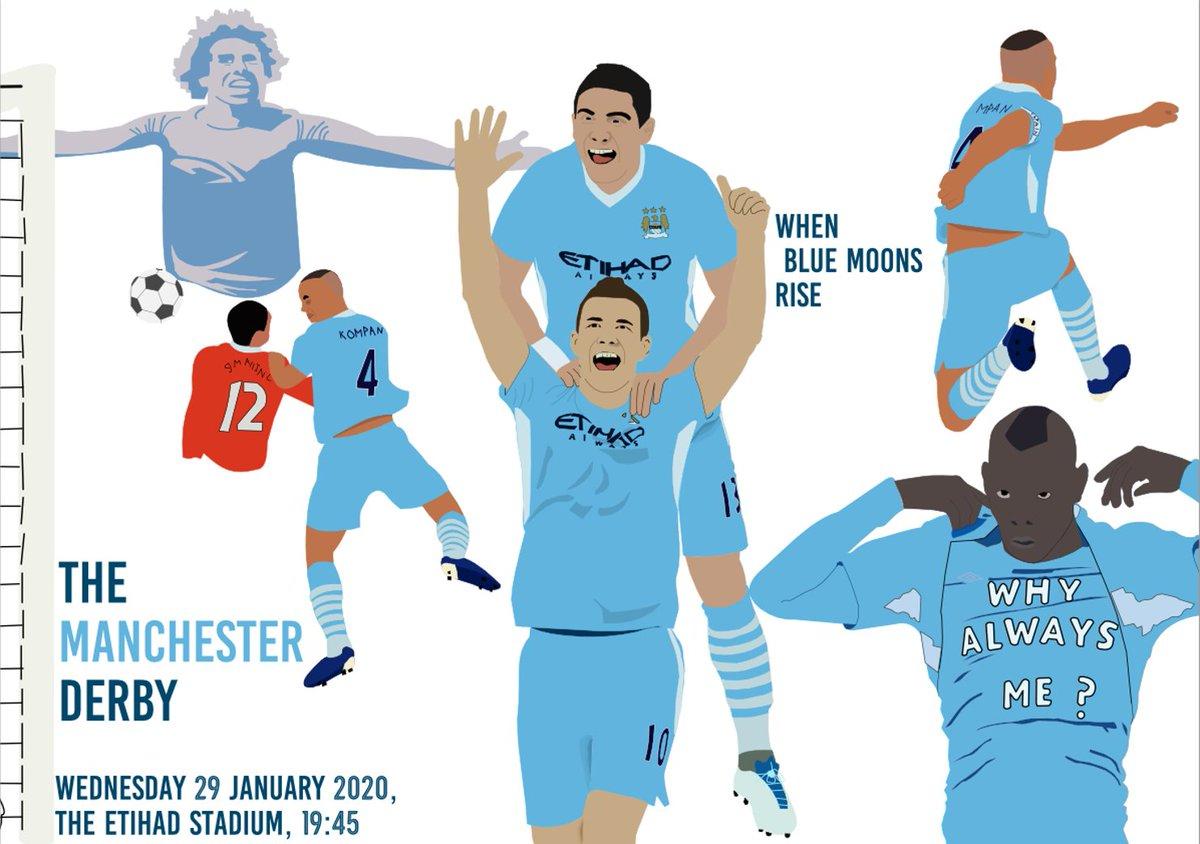 7 days to go until @ManCity plays Man Utd #MCFC #ManCity #ManchesterCity #MCIMNU #manchesterderby @City_Xtra @YourMCFC