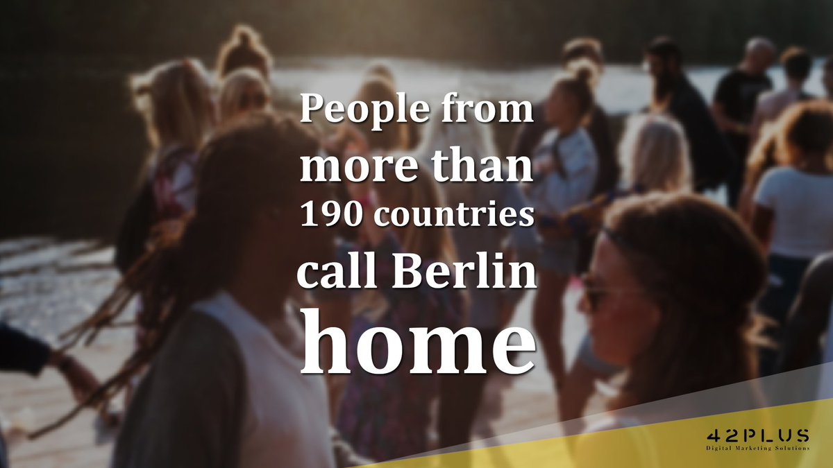 Facts of Berlin  People from more than 190 countries call #Berlin home and make this city a truly international metropolis  Mention a friend who makes this city international!  Source: http://bit.ly/demographics-berlin… #BerlinFacts #ichliebeberlin pic.twitter.com/mewhetu9Y7