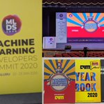 Image for the Tweet beginning: Attending Machine Learning Developers Summit