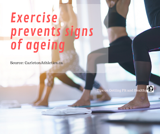 If you exercise 3 x a week for 45 minutes, you can help prevent signs of ageing.  #fit  #health  #healthy  #diet  #lifestyle  #fitnessideas  #fitnesstips  #healthtips  #healthydiet  #Amazingbodies  #healthyEating  #exercise