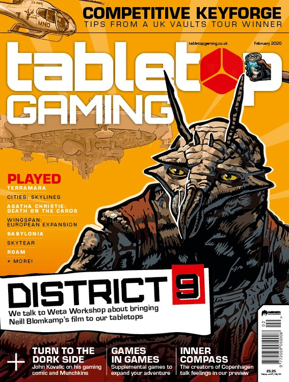 Tabletop Gaming Issue 39 -  Tabletop Gaming