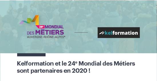 .@Kelformation, toujours partenaire du Mondial des Métiers ! 🤝🚀  #MDM2020 #partenaires #métiers #formation #orientation #emploi https://t.co/Z2x4mN8maC