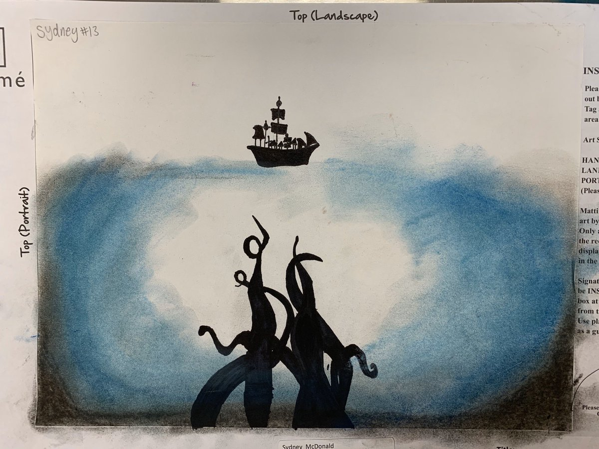 5th grade Fairy Tale Illustrations @ShilohPointES #ShilohShines