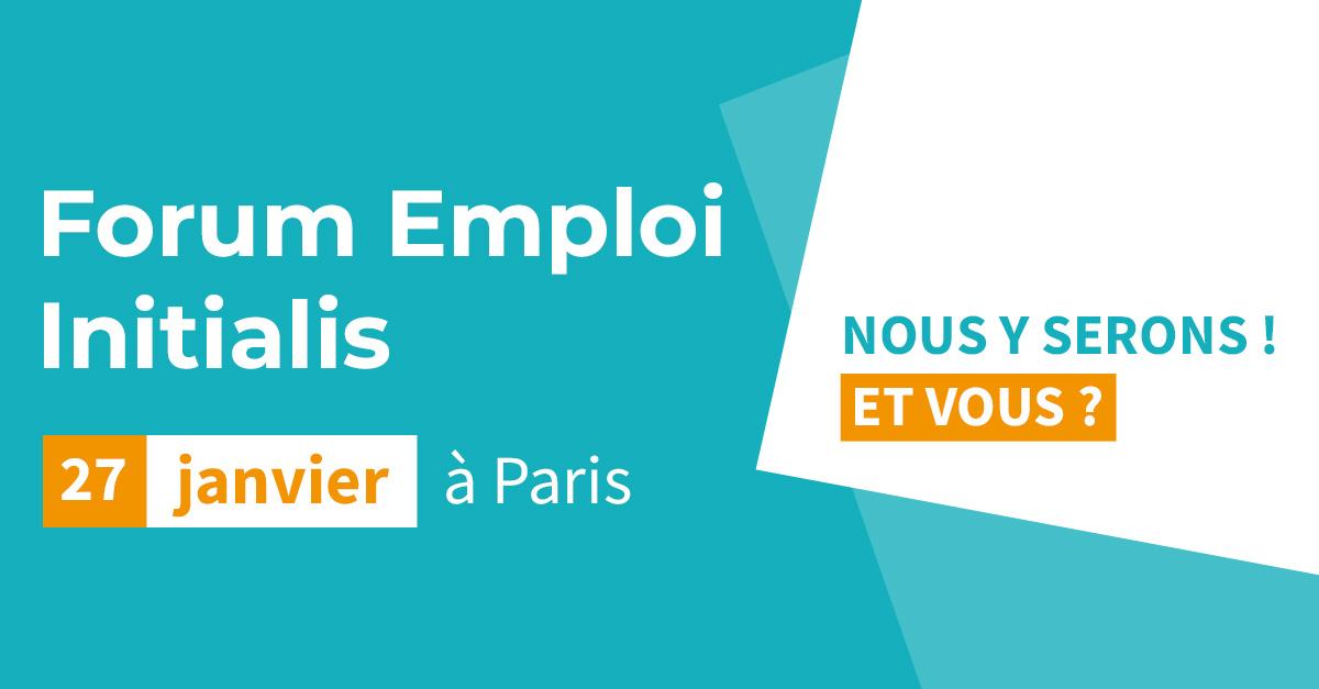 [ÉVÈNEMENT / EMPLOI] Vous recherchez un emploi dans les fonctions commerciales ? Rencontrons-nous le 27 janvier au Forum Initialis à Paris !📅 Inscription au Forum 👉: https://t.co/k9OwwVUIu6 Et d'ici là, découvrez toutes nos offres : https://t.co/QXZ4lQ85Lt https://t.co/QPzZoeOonM