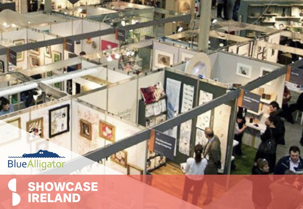 Keep a look out for Blue Alligator at @showcaseireland  today! 📲