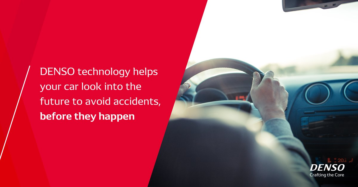 Keep your family and loved ones safe while out on the road. Find out how #DENSO technology helps your car look into the future to avoid accidents, before they happen. http://ow.ly/jsha50xDg3k    #DENSOmoves #smarttech pic.twitter.com/yxWC39M2My