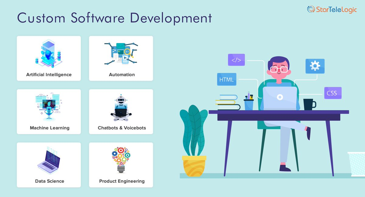 test Twitter Media - @StarTeleLogic offers custom software development for organizations looking to modernize and transform their business. See https://t.co/SBwZMPCxj2  #ArtificialIntelligence #AI #DigitalTransformation   #innovation #MachineLearning #chatbots #softwaredevelopment #softwaredeveloper https://t.co/4dLvAtNRD1