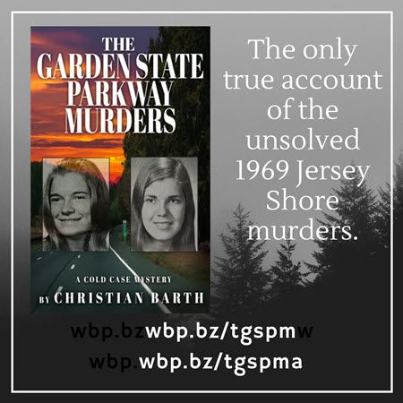 The first true -crime accout of the 1969 Garden State Parkway murders, with in-depth profiles of serial killers suspects Ted Bundy & Gerald Stano.   #truecrime  #crime  #newbook  #books  #mystery     http://wbp.bz/tgspm    http://wbp.bz/tgspm