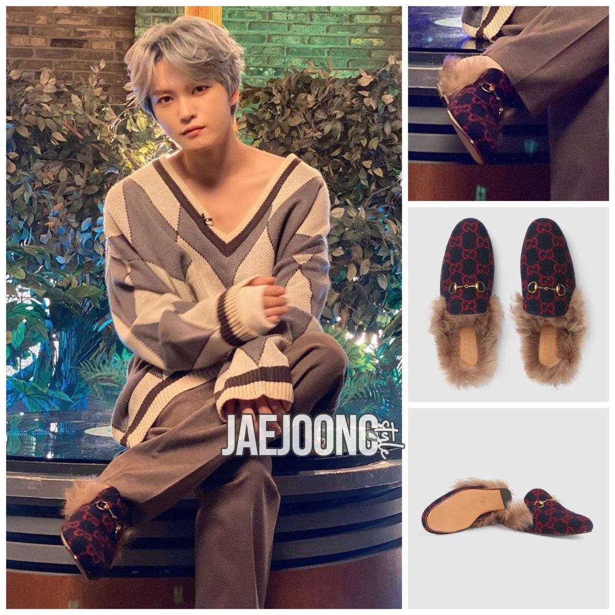 GUCCI Men's Princetown GG wool slipper