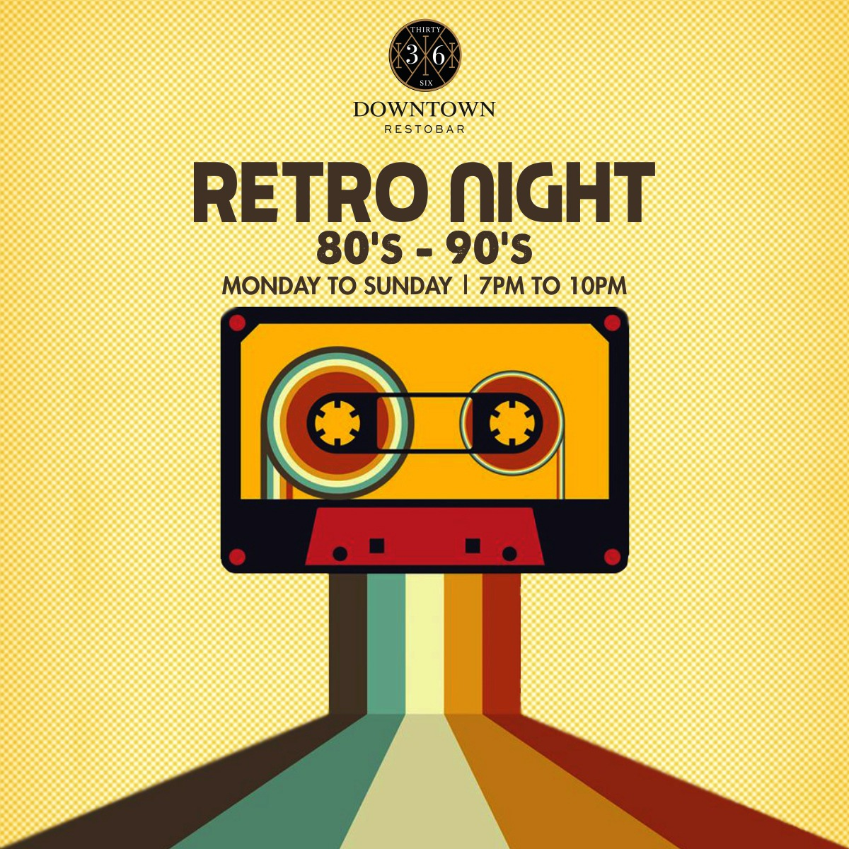 Come groove to retro tunes and enjoy the classic old numbers at @36downtownresto #retro #bar #music #bollywood #mumbai #genres#gig #night #weekend #weekday #swag #dance #jam #drinks#beers #famjam #party #fun #instagood #foodtalkindia #dance#eatoholic #weekendsvibes #nofilter