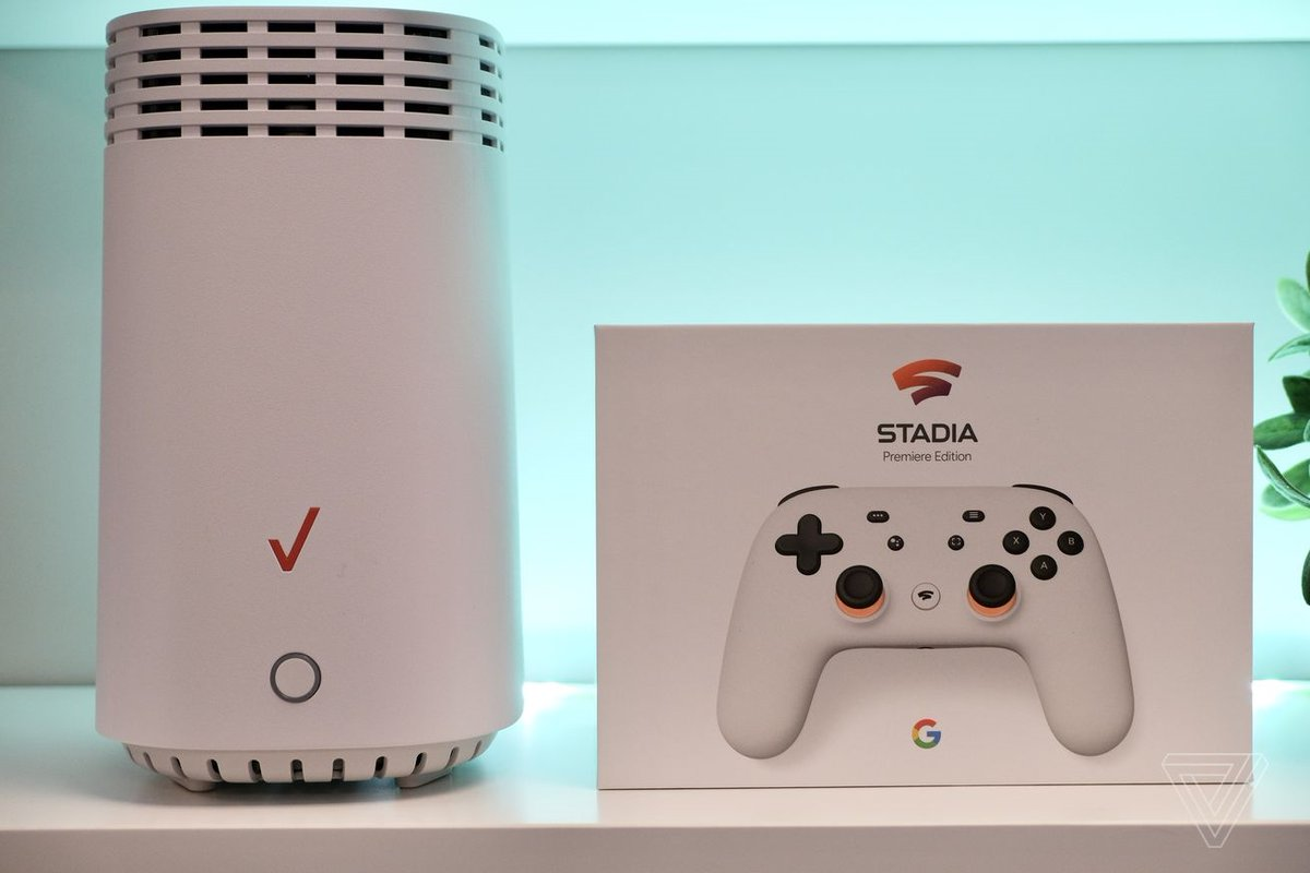 test Twitter Media - Google is giving free $130 Stadia gaming kits to new Verizon Fios subscribers: #DeepLearning #IoT #BigData MT @worldtrendsinfo https://t.co/ldVunhL1KT https://t.co/ofWvj58v9W
