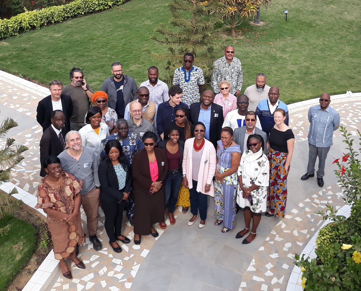Consolidating collaboration with our West Africa partners. Thank you to all for your engagement for the benefit of people and nature! #conservation #WestAfrica
