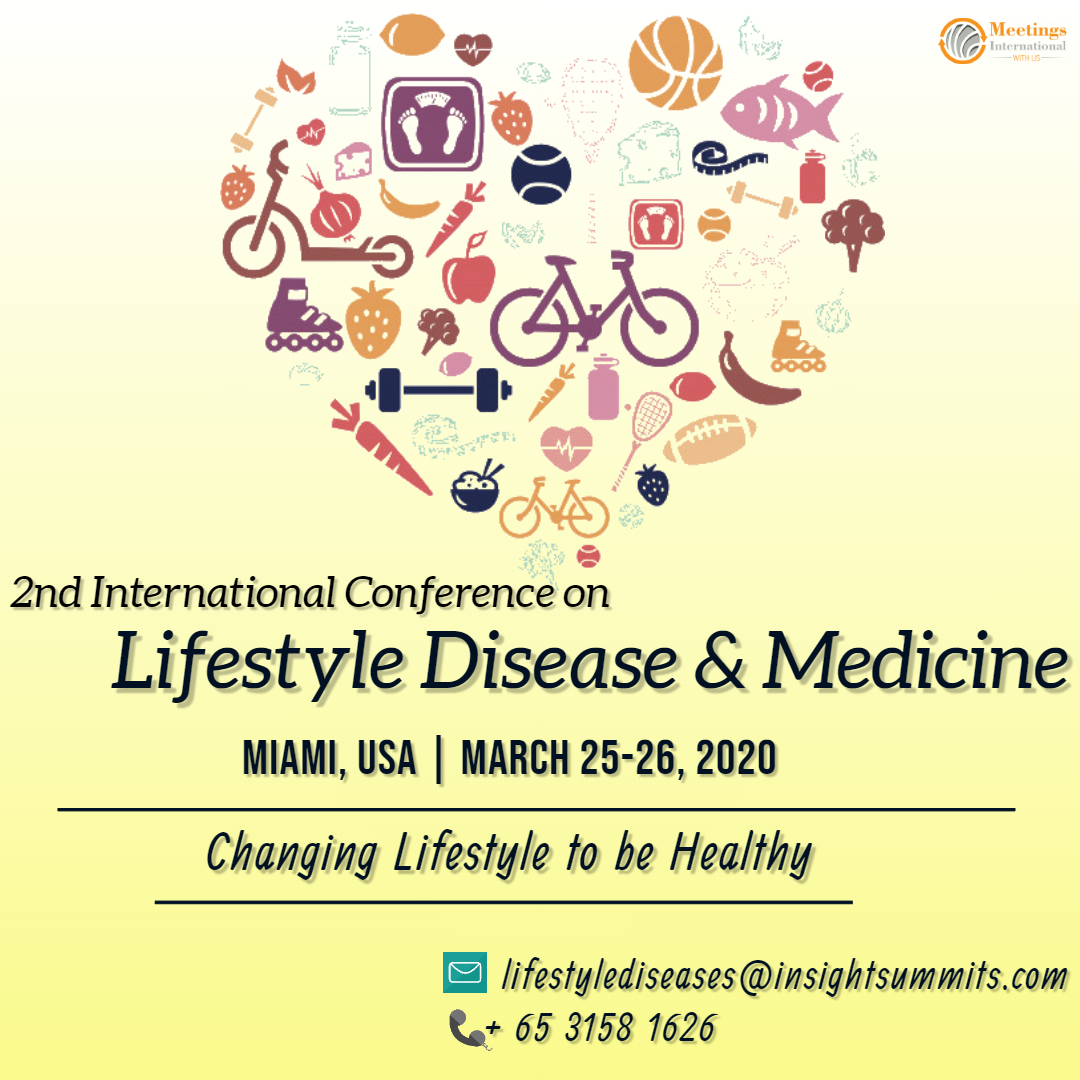 Learn about #LifestyleMedicine in the 2nd #InternationalConference on #LifestyleDisease & #Medicine which has been scheduled at #Miami, USA during March 25-26, 2020.  Submit your research paper! Join us in Miami! Email: lifestylediseases@insightsummits.com Whatsapp: +65 3158 1626pic.twitter.com/0R0PwQJMgR