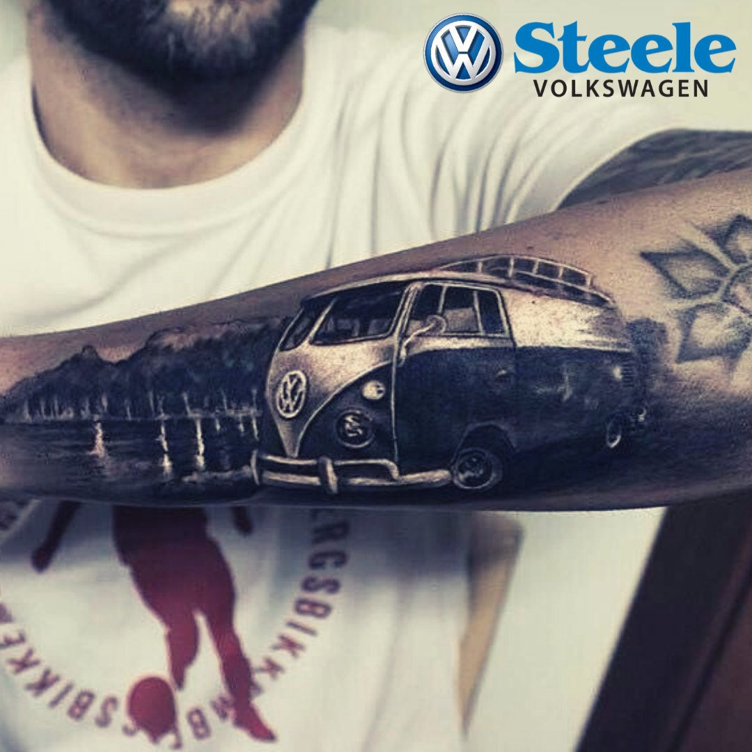 What an amazing Volkswagen tattoo! Some people love to get some ink - what VW tattoo would you get?   #SteeleVW #Tattoos #Volkswagen #SteeleAutoGroup