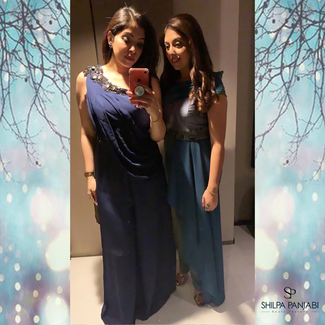 #destinationwedding Feeling confident and blue-tiful✨ . . . #womenswear #blue #jumpsuit #festiveedit #weddingedit #weddingseason #weddings #ootd #instagood #instalove #SPHC #customised #shilpapanjabihautecouture #indian #westernwear #designer #indiandesigner