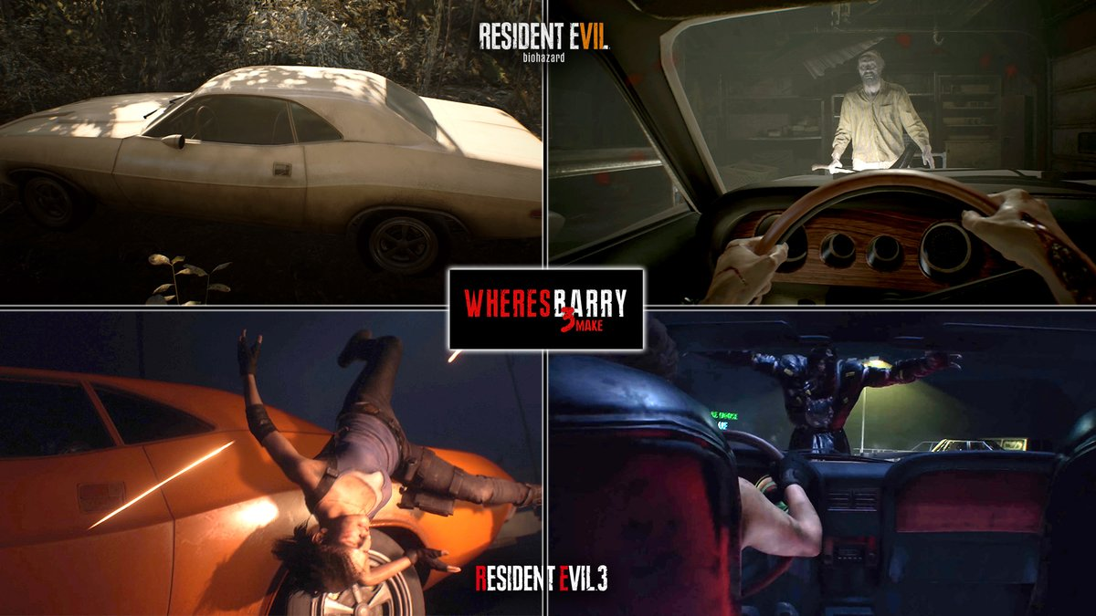 Where S Barry On Twitter Jill In Residentevil3remake And Ethan
