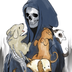 """Image for the Tweet beginning: A not-so-grim reaper.  Check out """"Loving"""