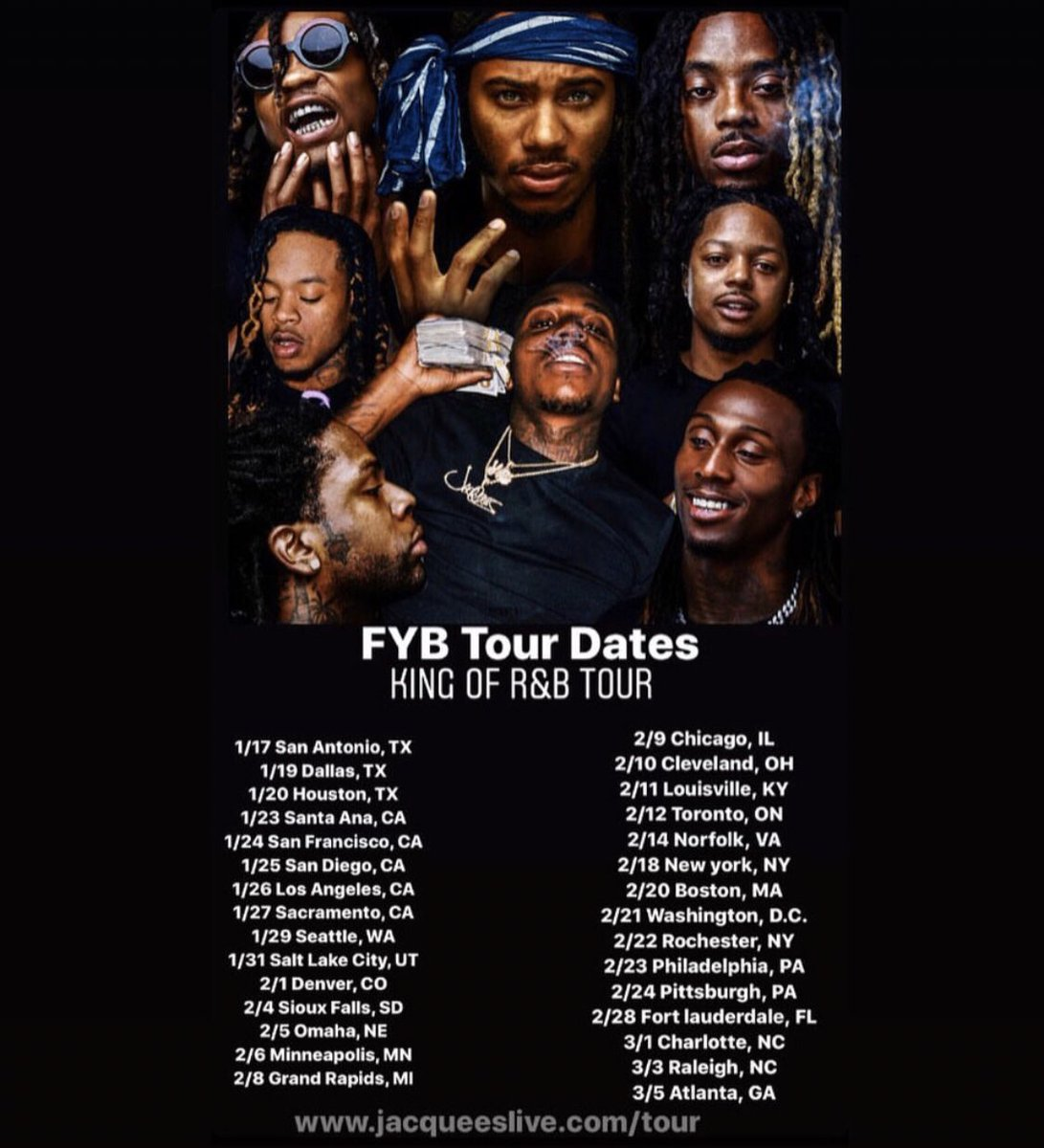 Whole gang OTW to Santa Ana, CA COMMENT if you see your City #FYB<br>http://pic.twitter.com/KmqKXZKZ04
