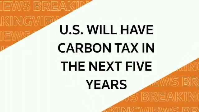 From @Breakingviews Predictions 2020 panel: U.S. will have carbon tax in the next five years #BVPredicts