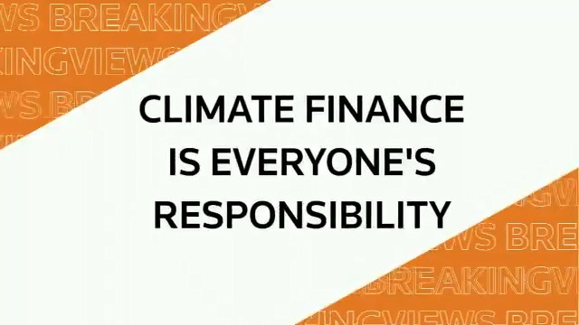 Predictions 2020 panel hosted by @peter_tl: Climate finance is everyone's responsibility via @Breakingviews #BVPredicts