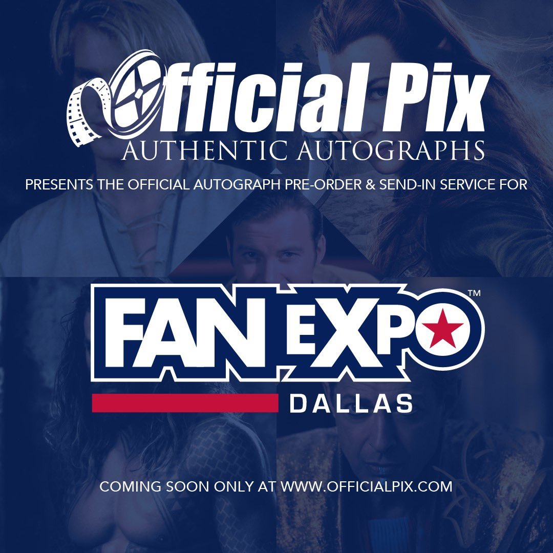 Excited to offer the Official Autograph Pre-Order & Send-In Service for @FANEXPODallas! Orders launching in February for names like #TeriHatcher, #DeanCain, #JohnLeguizamo, #GiancarloEsposito, #ElijahWood, #DominicMonaghan, #BrendanFraser, #JohnCleese, #BrandonRouth & more!pic.twitter.com/sY2ngKxWkO