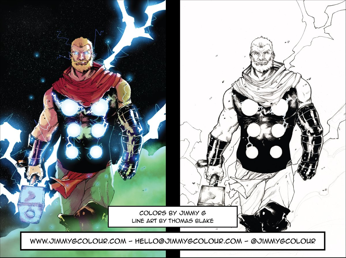 Had a Wednesday warm up with these amazing lines from Thomas Blake. #makecomics #color<br>http://pic.twitter.com/PzXAoorjG9