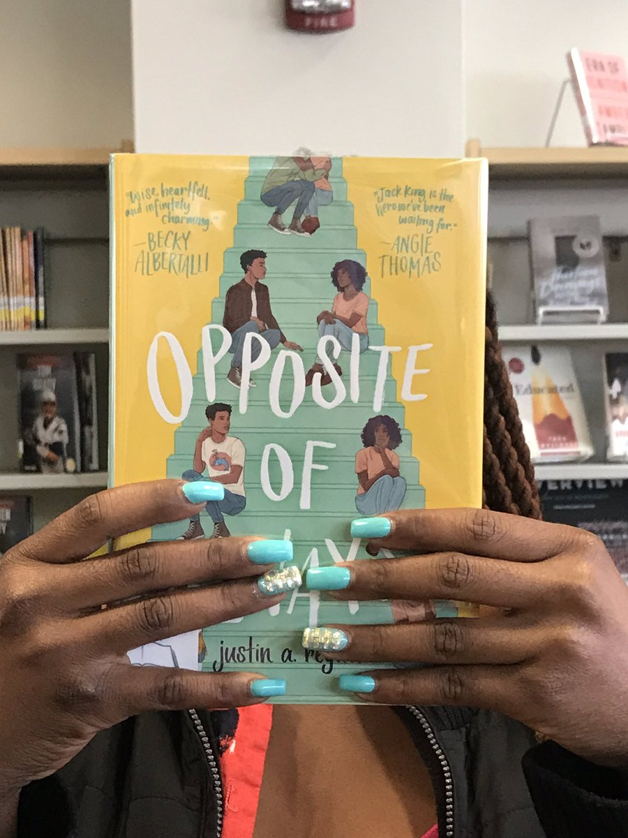 When your nails and your book choice match perfectly, you know you were meant to read this book! <a target='_blank' href='http://twitter.com/andthisjustin'>@andthisjustin</a> <a target='_blank' href='http://search.twitter.com/search?q=TheOppositeofAlways'><a target='_blank' href='https://twitter.com/hashtag/TheOppositeofAlways?src=hash'>#TheOppositeofAlways</a></a> <a target='_blank' href='https://t.co/1so8V7OxKh'>https://t.co/1so8V7OxKh</a>