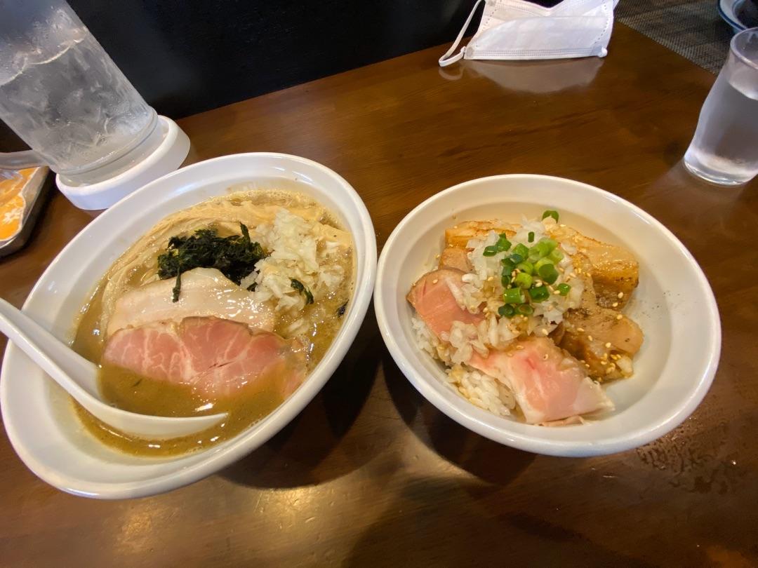 11。麺屋花畑@幸手市☆煮干しの醤油ラーメン➕チャーシュー丼 ー アメブロを更新しました#麺屋花畑