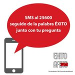 Image for the Tweet beginning: 📲 Consultas por SMS Enviar un