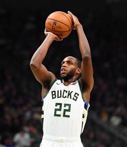 Khris Middleton > James Harden  Khash Money           Bearded Bricklayer • 50% FG               • 44% FG • 42% on 3s          • 36% on 3s • 89% FT               • 86% FT • 14 FGa/gm          • 24 FGa/gm • $30.6m               • $37.8m • 39 wins               • 26 wins