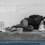 Image for the Tweet beginning: Unsheltered #homeless individuals are far
