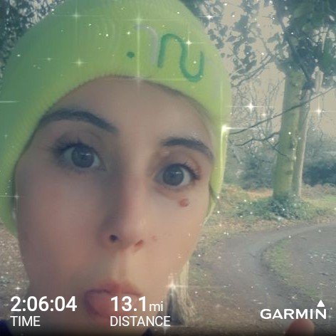 Half marathon in the park this morning.... back on the marathon training plan after a horrible cold all last week it was a tough one and slow but I did it #garmin #beatyesterday<br>http://pic.twitter.com/stnye06DSc